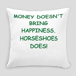 horse racing Everyday Pillow