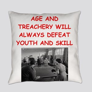 i loce table tennis Everyday Pillow