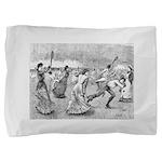 tennis in art Pillow Sham