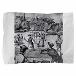tennis in art Pillow Sham