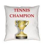 tennis joke Everyday Pillow