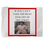 i love tennis Pillow Sham