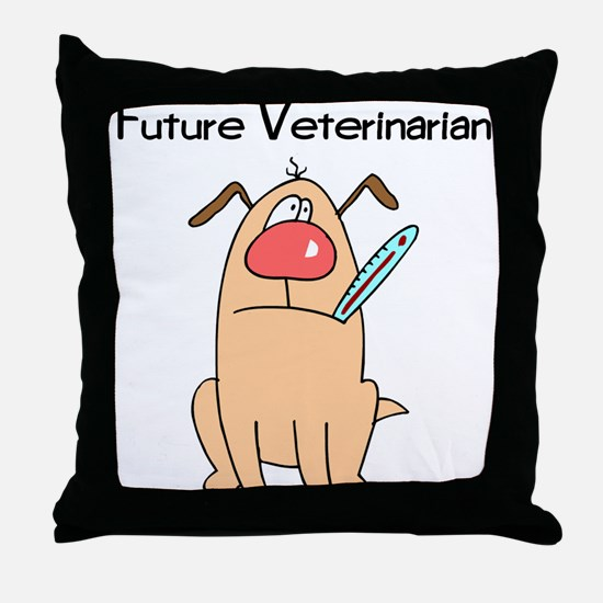 Future Veterinarian 4 Throw Pillow