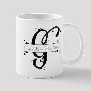 Monogram G Mugs