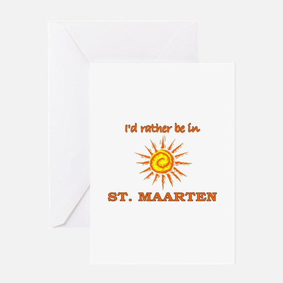 Cute St. martin Greeting Card