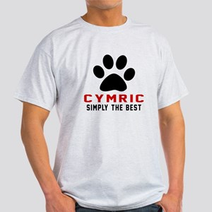 Cymric Simply The Best Cat Designs Light T-Shirt