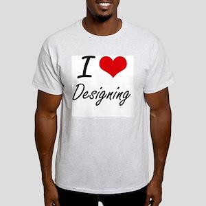 I love Designing T-Shirt