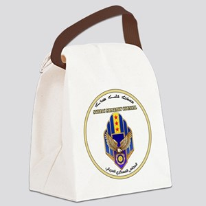 Syriac Military Council (MFS) Log Canvas Lunch Bag