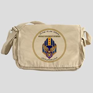 Syriac Military Council (MFS) Logo Messenger Bag