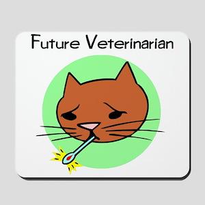 Future Veterinarian - Sick Ki Mousepad
