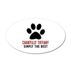 Chantilly Tiffany Simply The Wall Decal