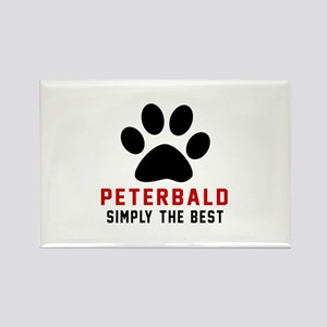 Peterbald Simply The Best Rectangle Magnet