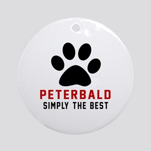 Peterbald Simply The Best Round Ornament