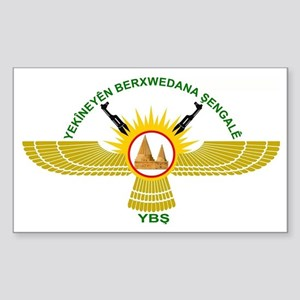 Logo Shingal Protection Forces Sticker (Rectangle)