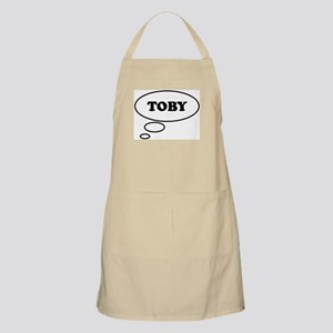 Thinking of TOBY BBQ Apron
