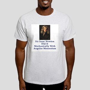 Sir Isaac Newton Light T-Shirt