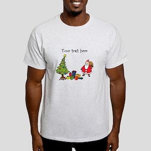 Personalized Holiday Santa T-Shirt