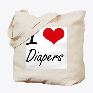I love Diapers Tote Bag