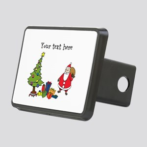 Personalized Holiday Santa Hitch Cover