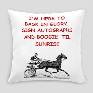 harness racing joke Everyday Pillow