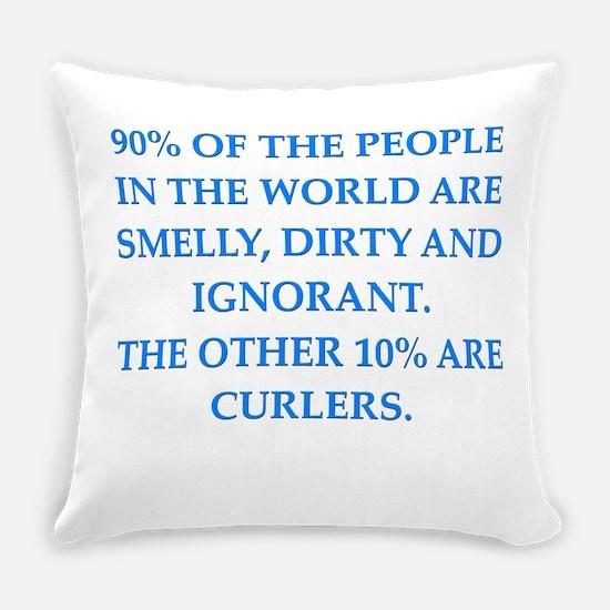 curler Everyday Pillow