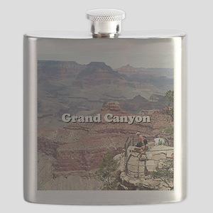 Grand Canyon South Rim 4 (caption) Flask