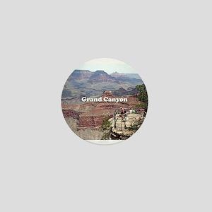Grand Canyon South Rim 4 (caption) Mini Button