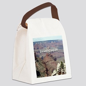 Grand Canyon South Rim 3 (caption Canvas Lunch Bag