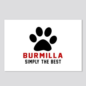 Burmilla Simply The Best Postcards (Package of 8)