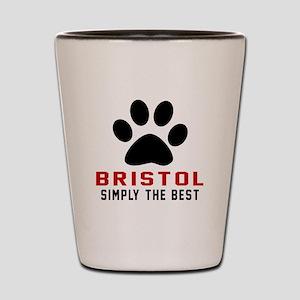 Bristol Simply The Best Cat Designs Shot Glass