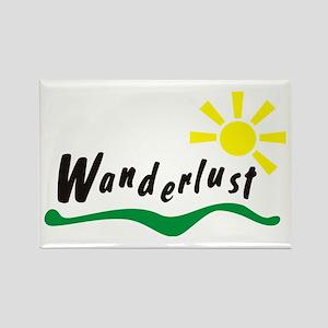 Wanderlust Rectangle Magnet