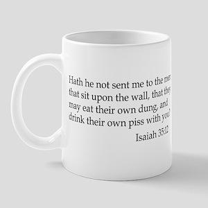 Isaiah 35:12 Mug