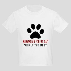Norwegian Forest Cat Simply The Kids Light T-Shirt