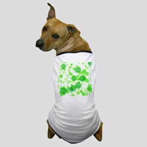 Bubbles Green Dog T-Shirt