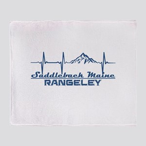 Saddleback Maine - Rangeley - Main Throw Blanket