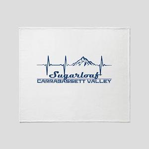 Sugarloaf - Carrabassett Valley - Throw Blanket