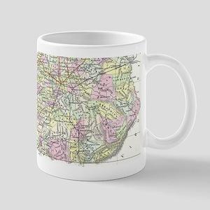 Vintage Map of Kentucky (1850) Mugs