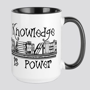 Knowledge is Power Mugs