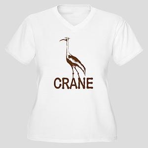 Crane Plus Size T-Shirt