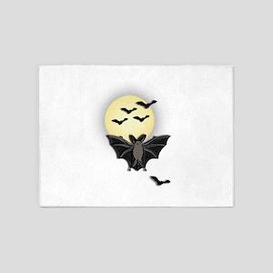 Moonlight Bat 5'x7'Area Rug