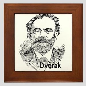 Antonin Dvorak Framed Tile