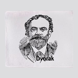 Antonin Dvorak Throw Blanket