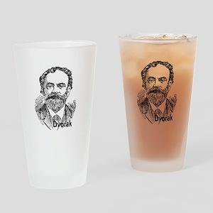 Antonin Dvorak Drinking Glass