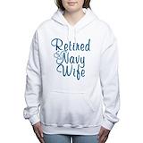 Navy retired Hooded Sweatshirt