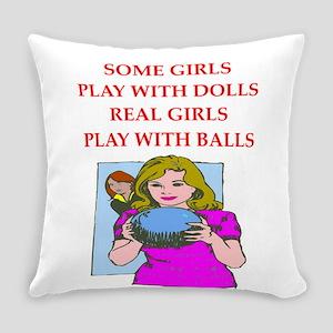 bowler Everyday Pillow