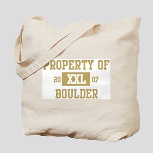 Property of Boulder Tote Bag