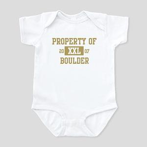 Property of Boulder Infant Bodysuit