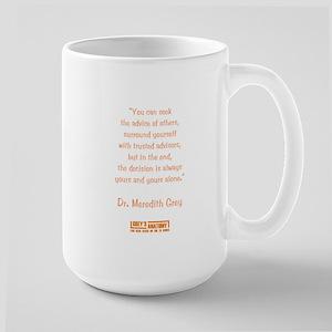 SEEK ADVICE Large Mug