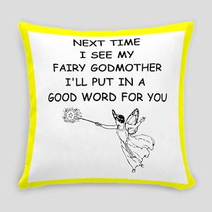 fairy godmother Everyday Pillow