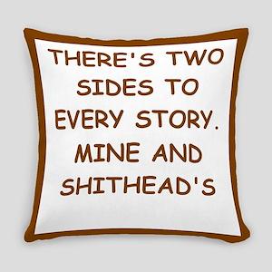 divorced Everyday Pillow